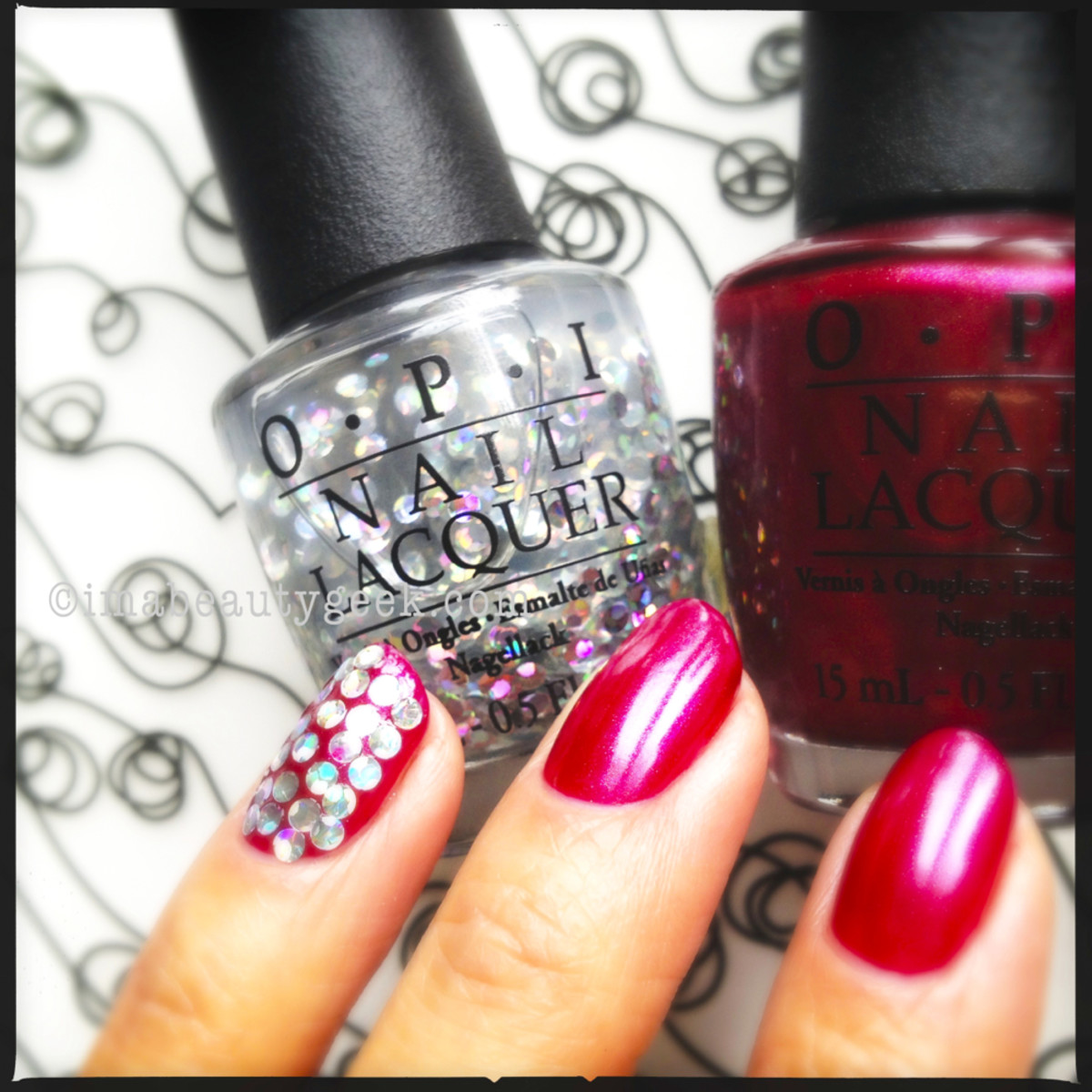 OPI I Snow You Love Me Holiday 2013