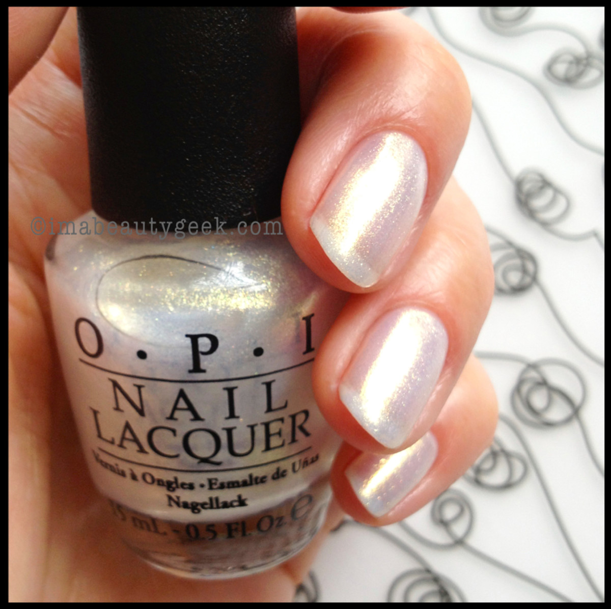 OPI Ski Slope Sweetie Holiday 2013