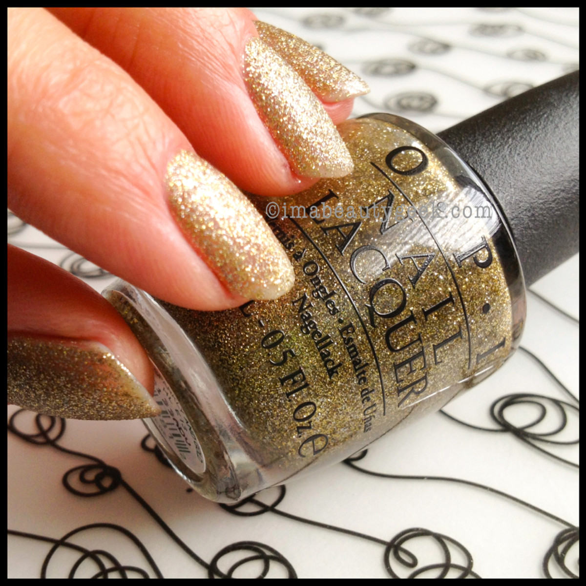 OPI All Sparkly and Gold Holiday 2013
