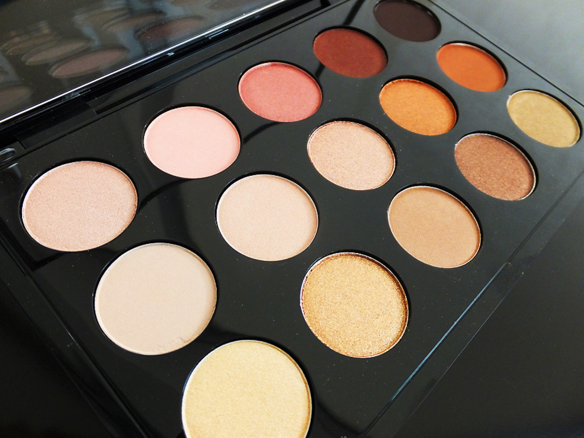 MAC Eye Shadow x 15 palette_warm neutral