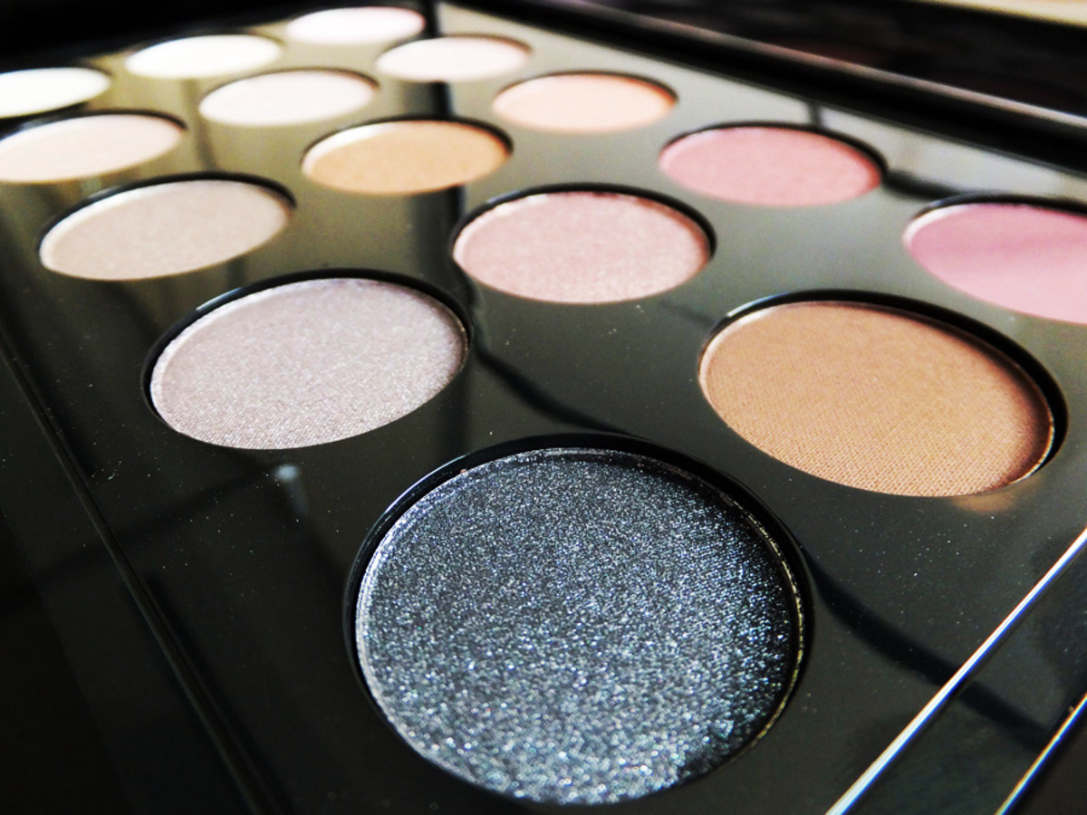 MAC Eye Shadow x 15 palette cool neutral
