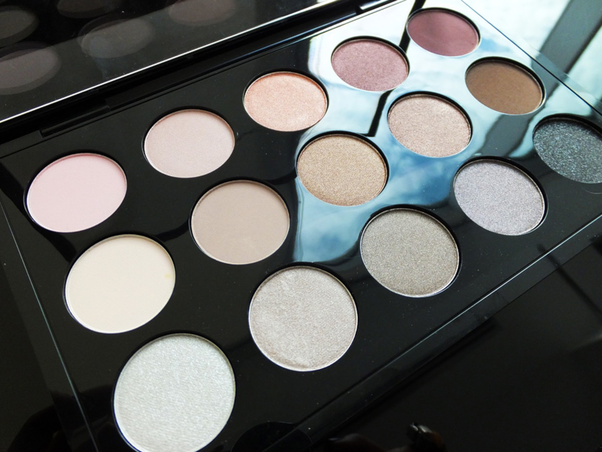 MAC Eye Shadow x 15 palette_the cool neutrals