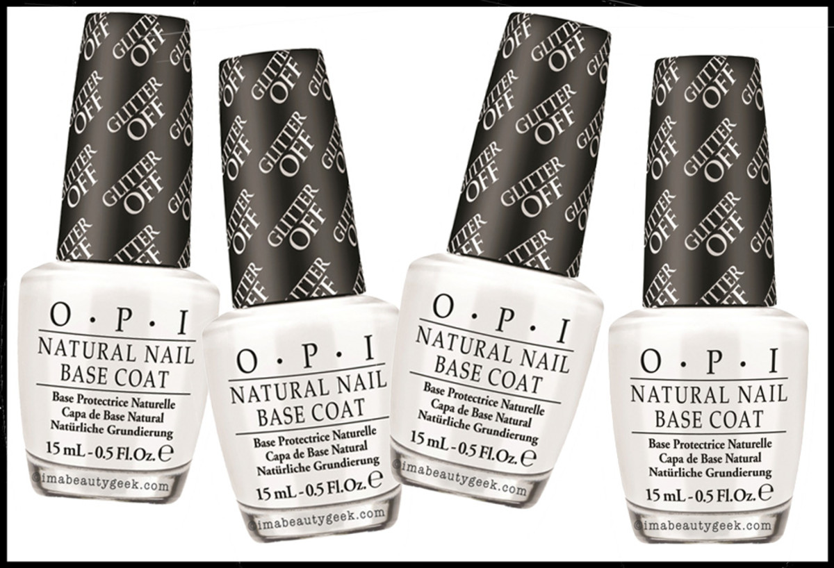 OPI-Glitter-Off base coat