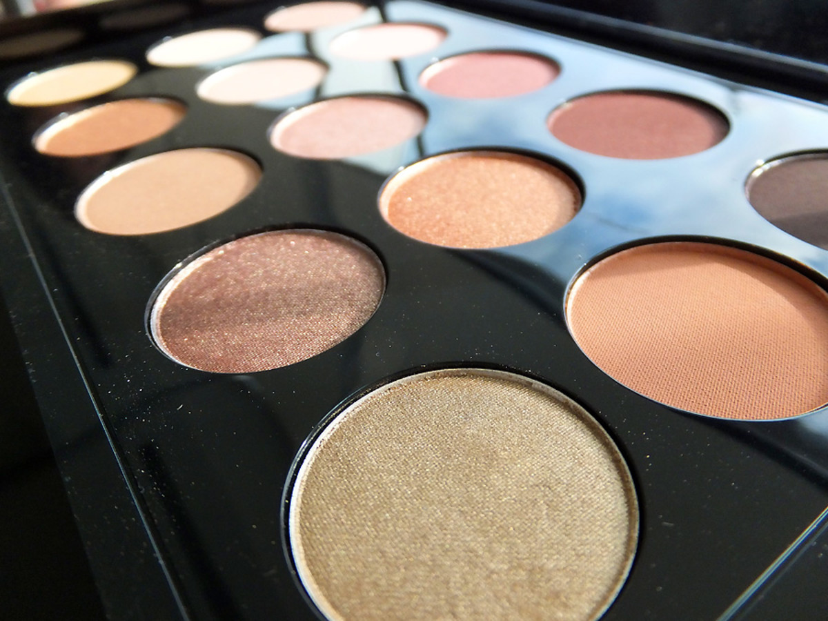 MAC Eye Shadow x 15_warm neutral palette