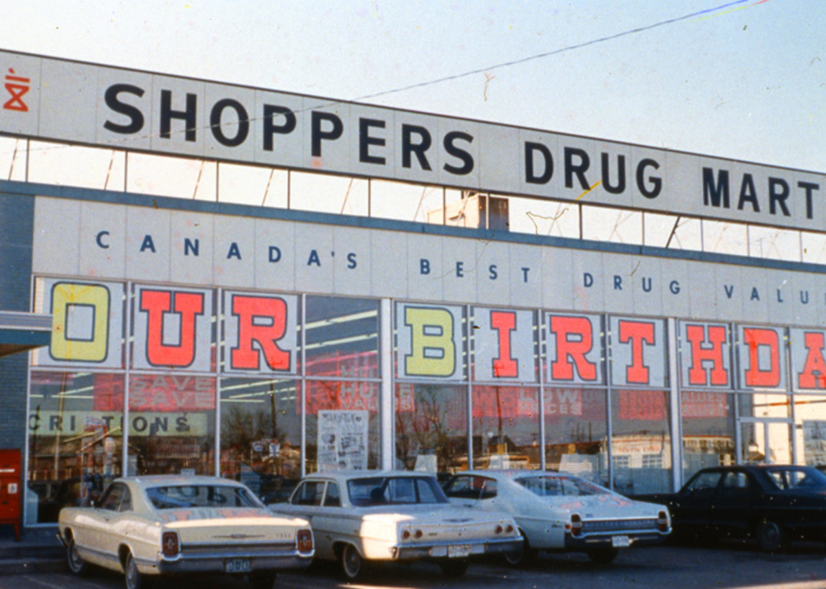 F Is For Fifty Years Shoppers Drug Mart Turns 50 Look Vintage