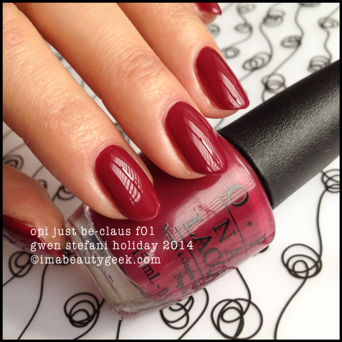 OPI Just Be-Claus Gwen Stefani Holiday 2014