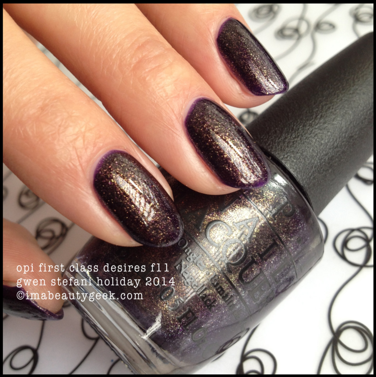 OPI First Class Desires F11_Gwen Stefani Holiday 2014