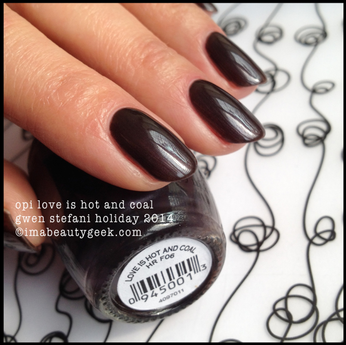 opi gwen stefani holiday 2014: love is hot and coal
