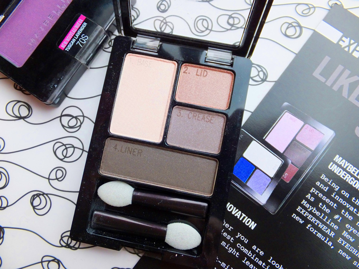 Maybelline Expertwear shadow new look new formula