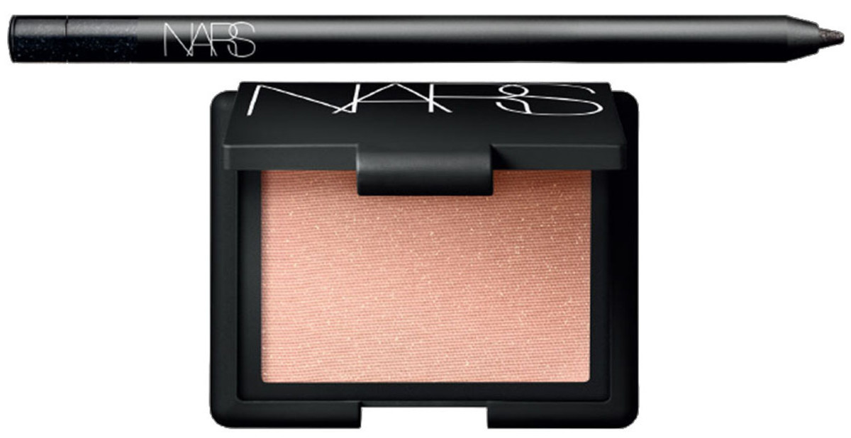 NARS Andy Warhol Holiday Color Collection 47th Street Larger than Life Long-Wear Eyeliner_Satellite of Love Highlighting Blush