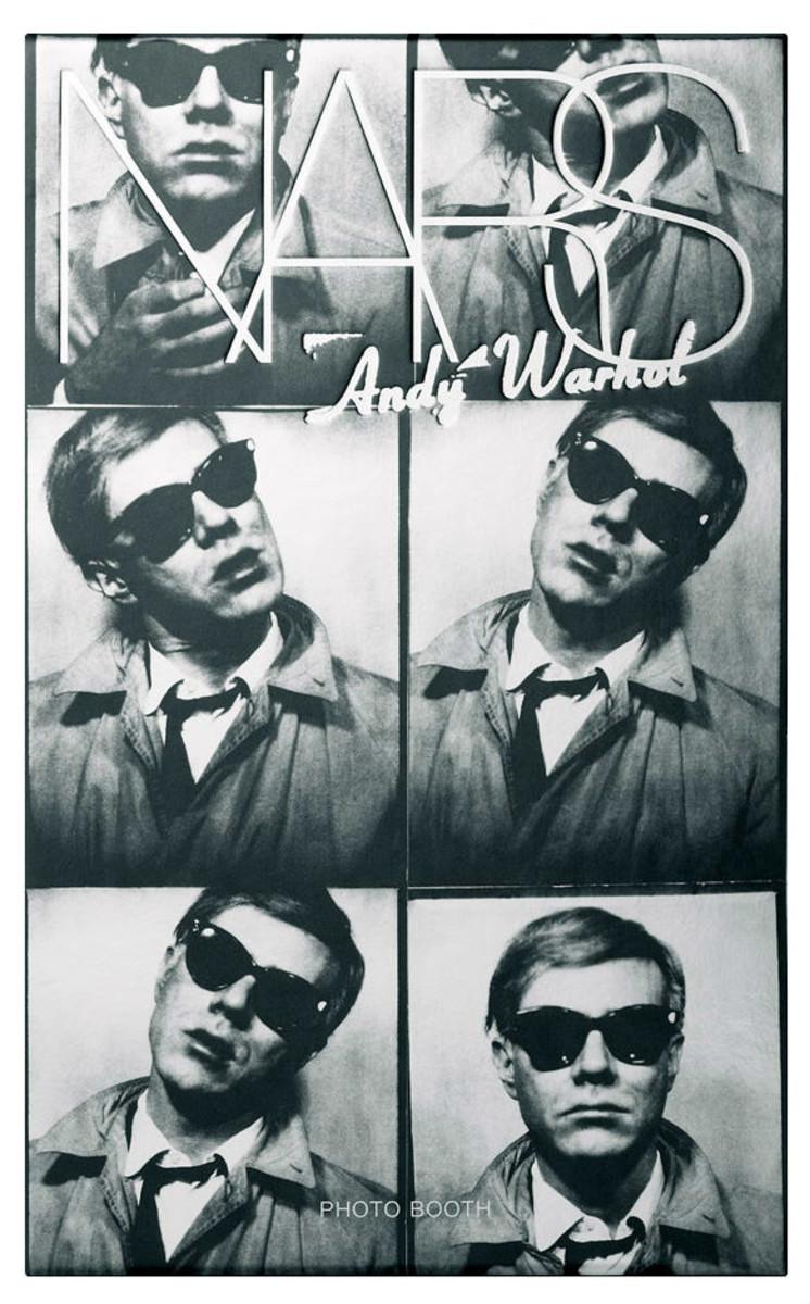 NARS Andy Warhol Silver Factory Photo Booth Nail Polish tin
