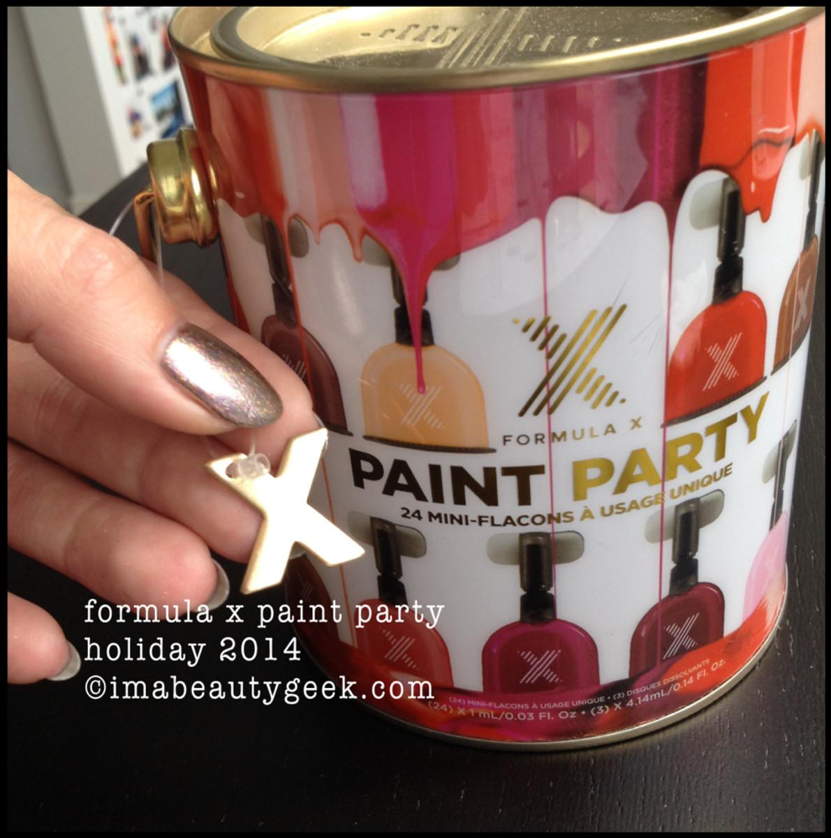 Formula X Paint Party Opener