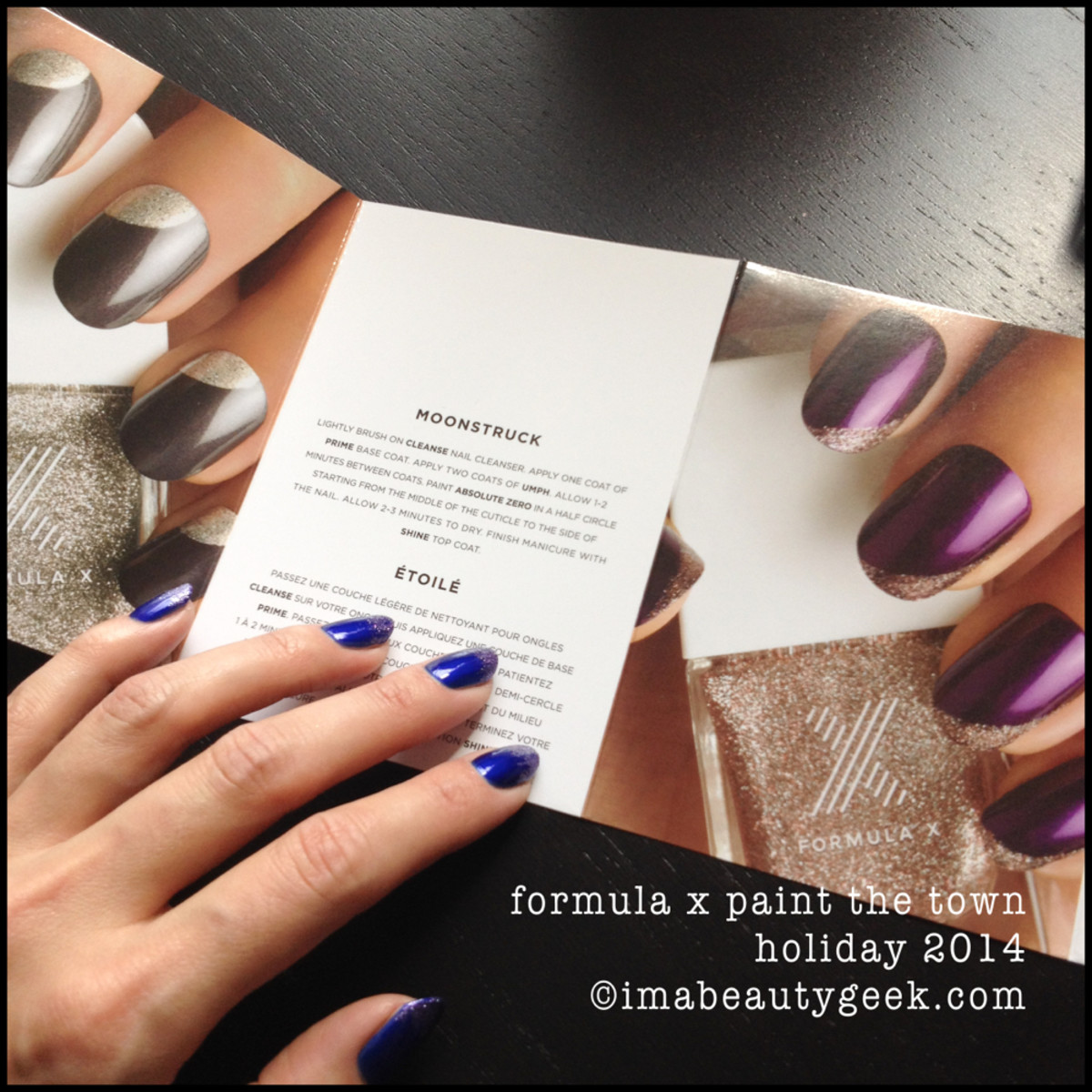 Formula X Paint the Town Nail Art