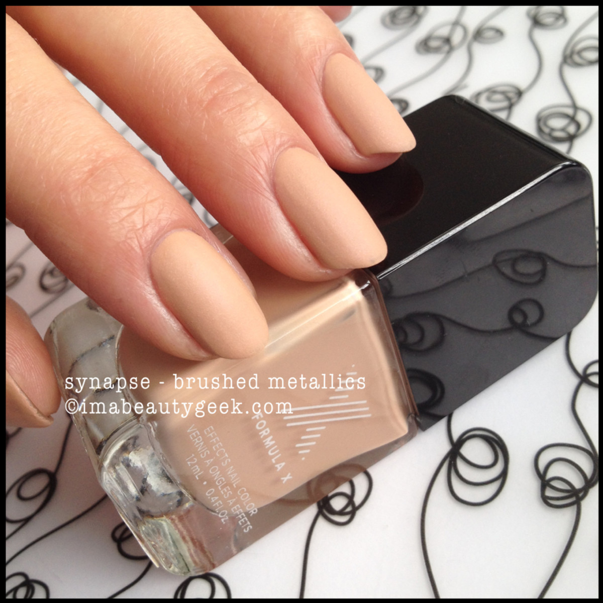 Formula X Synapse Brushed Metallics Sephora 2014