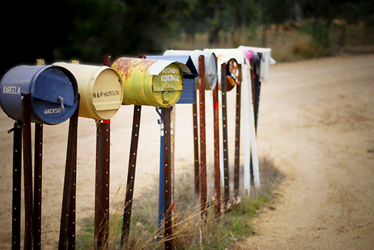 cute mailboxes