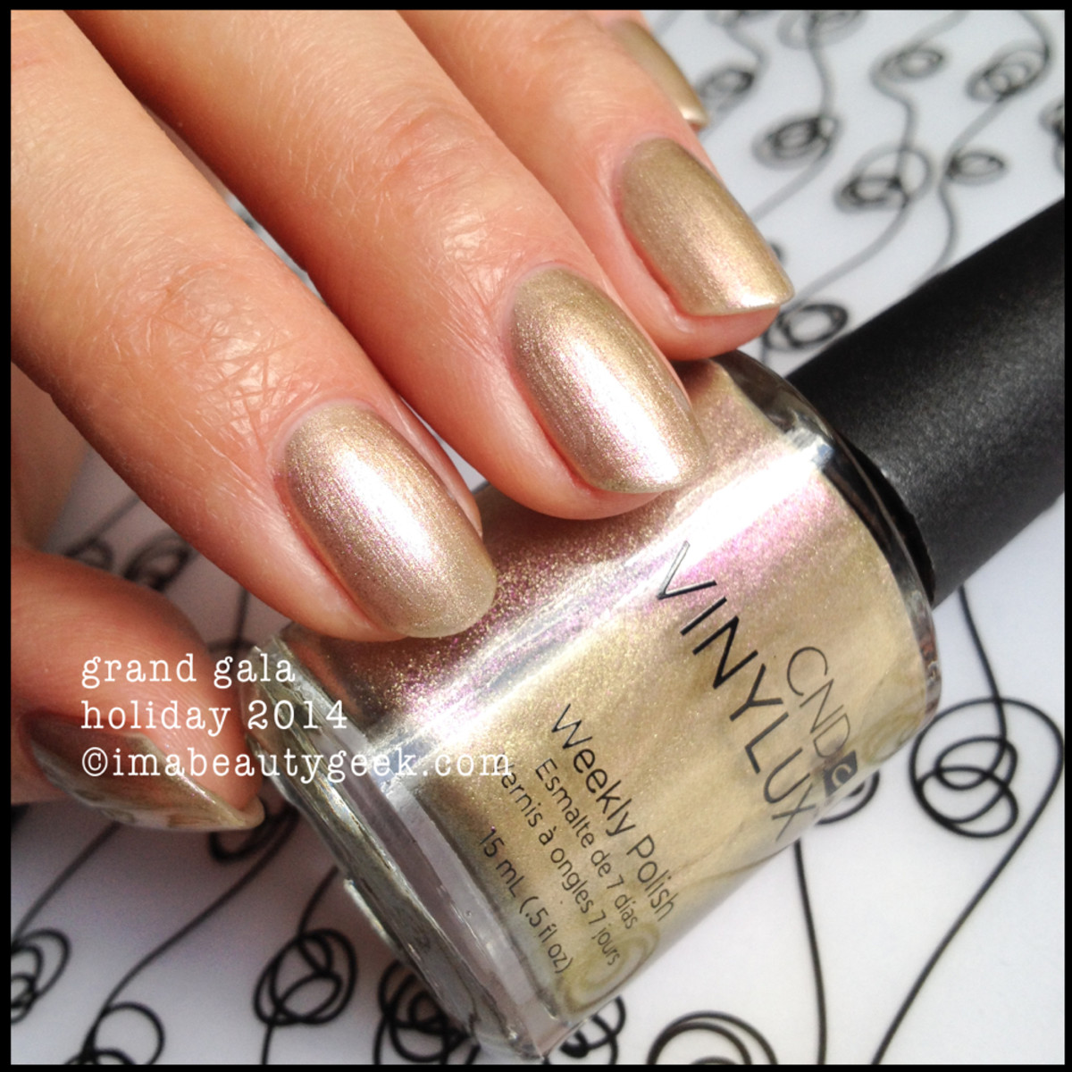 CND Vinylux Grand Gala Holiday 2014