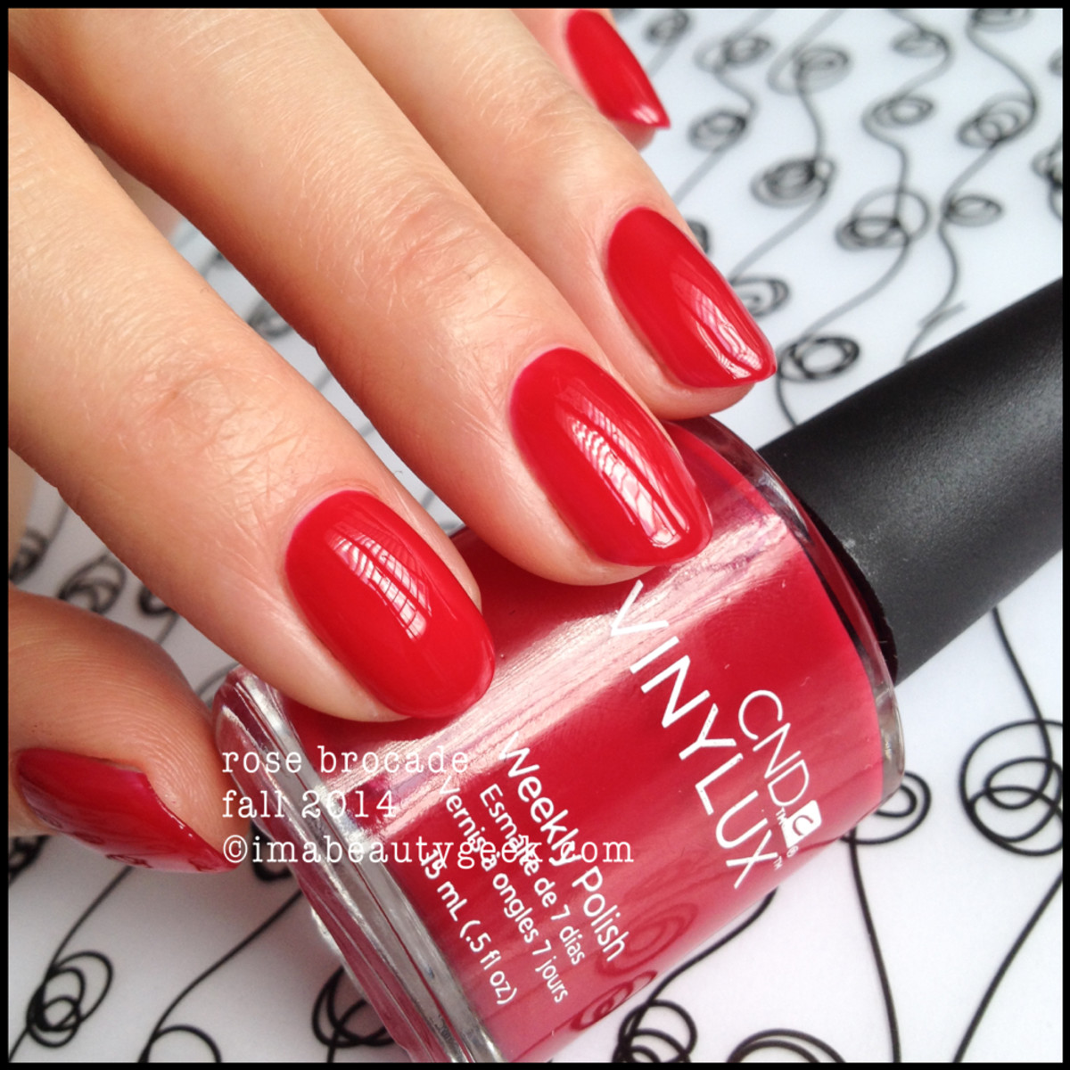CND Vinylux Rose Brocade Modern Folklore Fall 2014