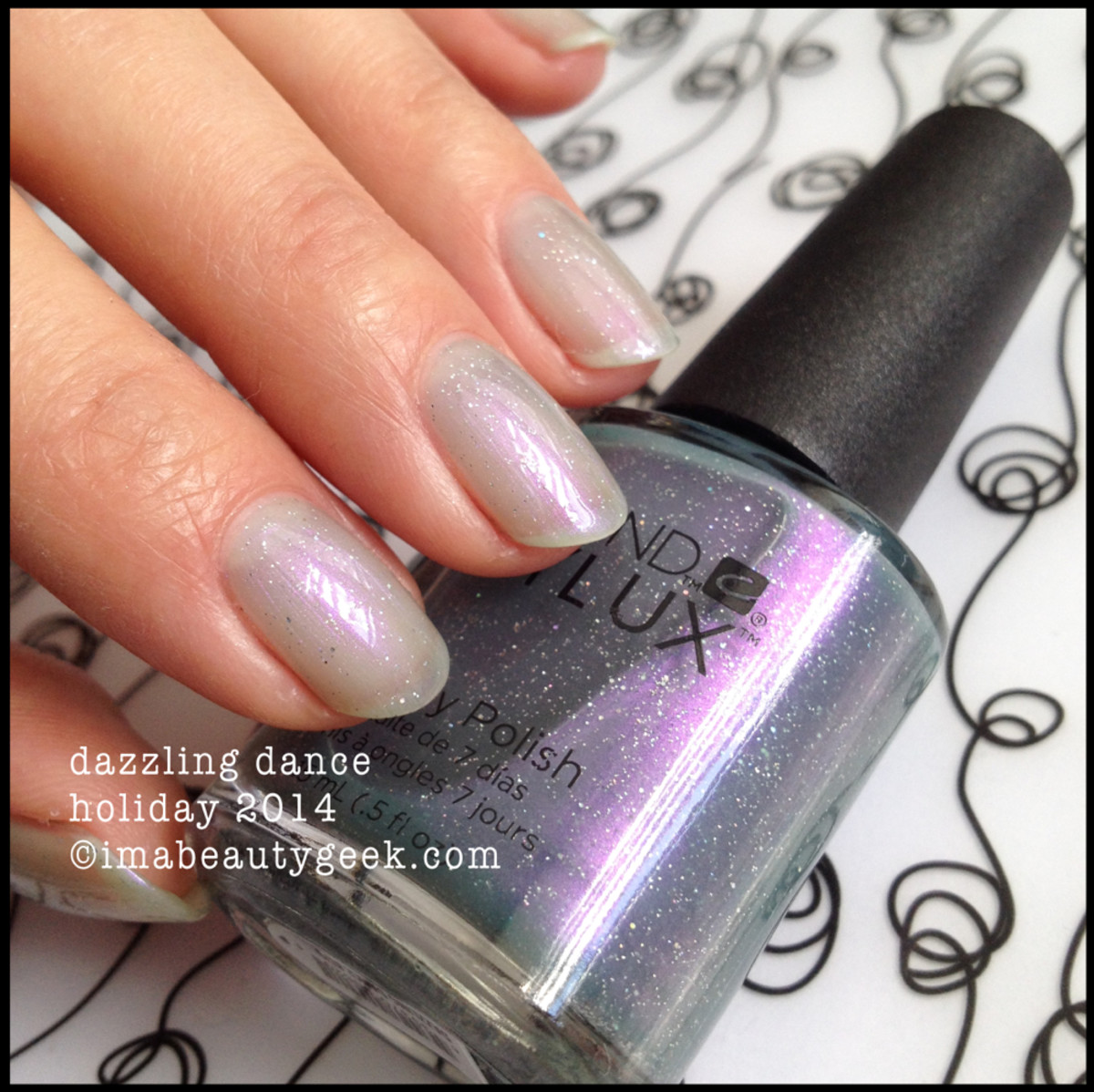 CND Vinylux Dazzling Dance Holiday 2014