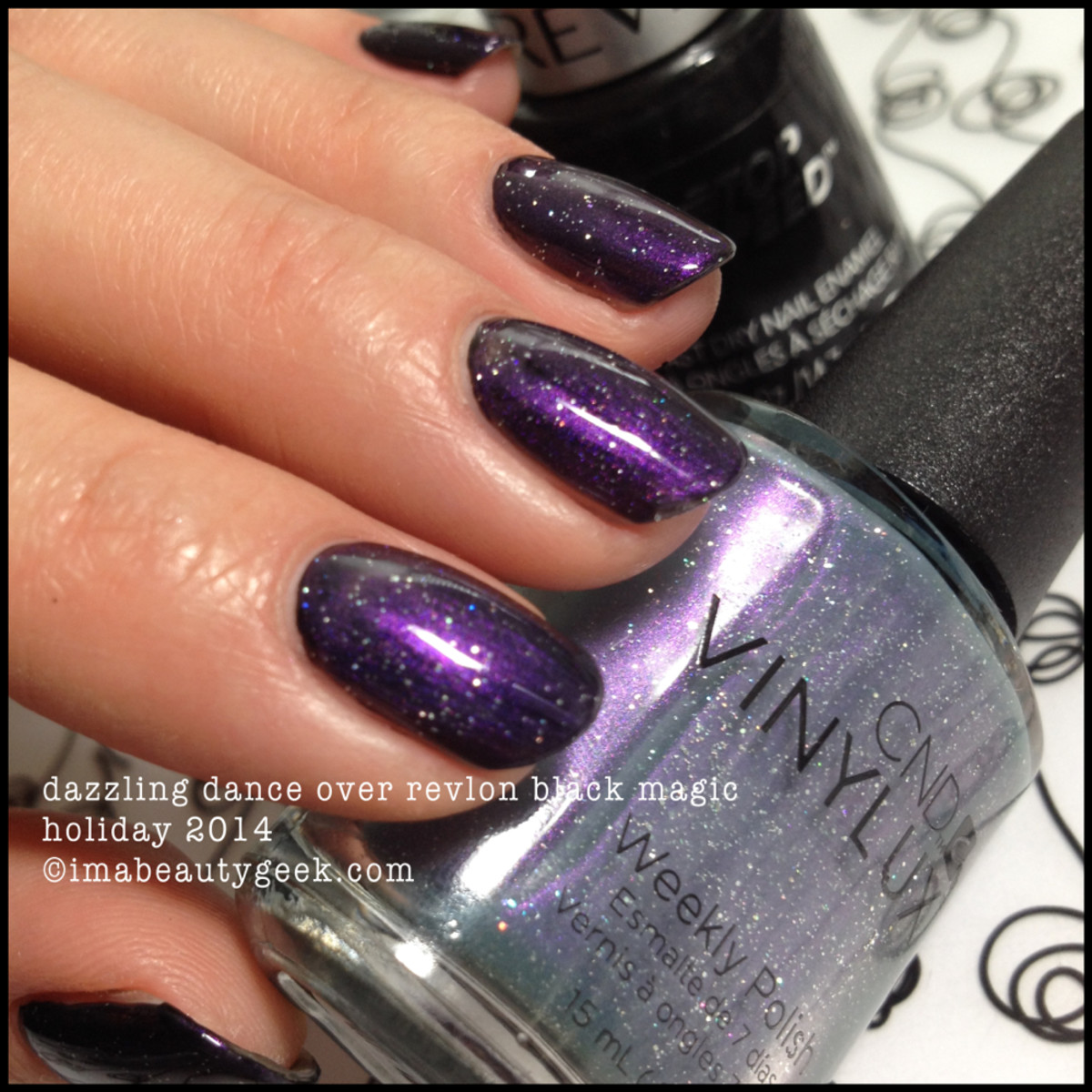 CND Vinylux Dazzling Dance Holiday Gilded Dreams 2014_2