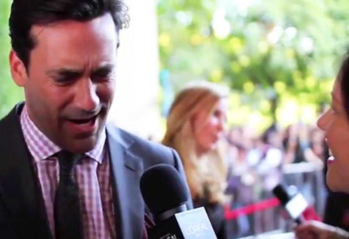 Jon Hamm_Friends w Kids_red carpet interview_TIFF 2011