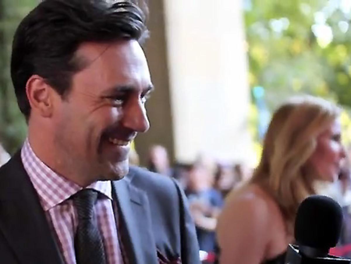 Jon Hamm_Friends with Kids red carpet interview_TIFF 2011