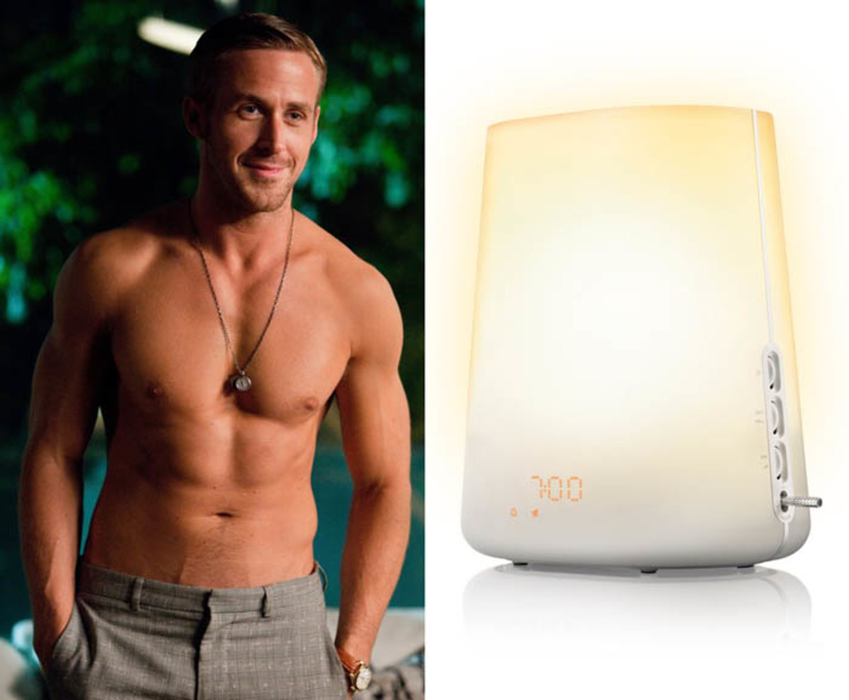 philips wakeup light plus HF3475_record and play Ryan Gosling