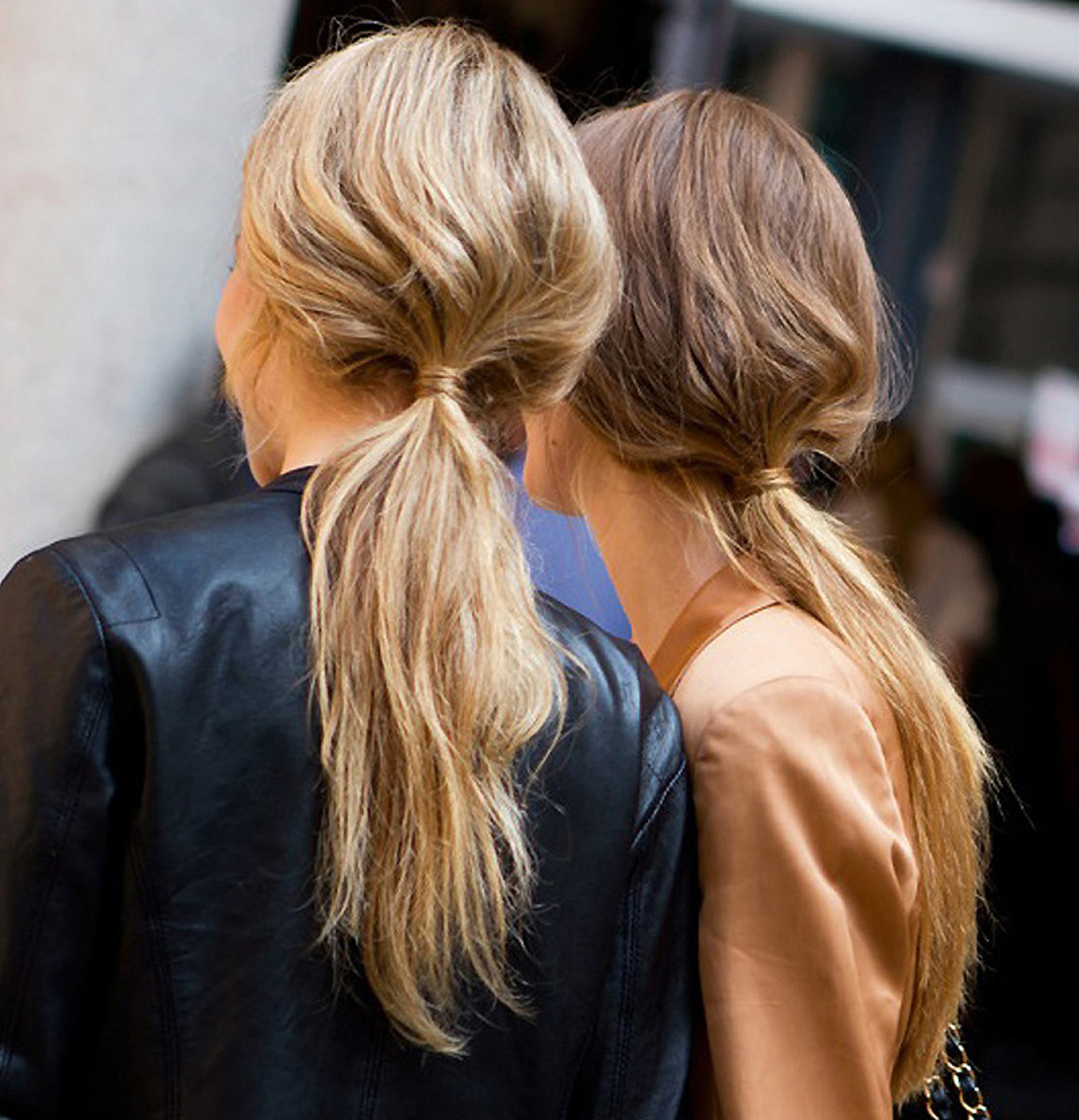 how to smooth bumps out of your hair_paul hanlon sport inspired ponytails for versus