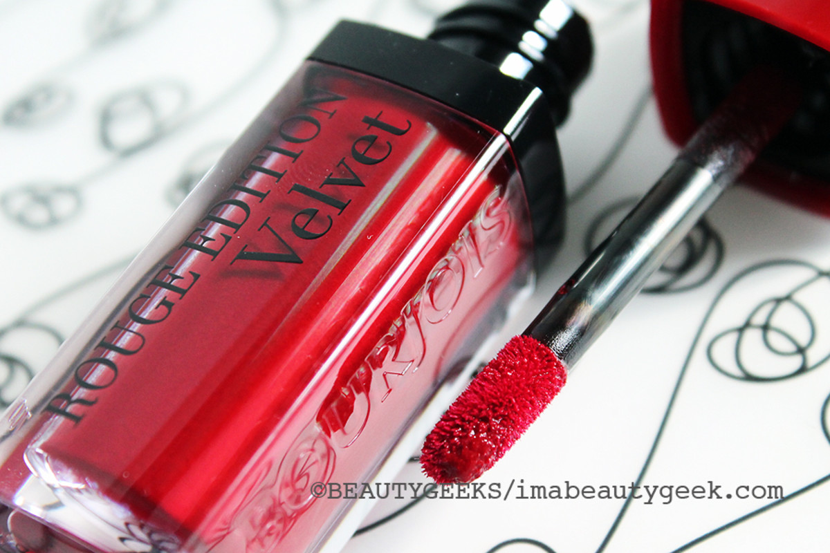 Bourjois Rouge Edition Velvet Grand Cru matte finish