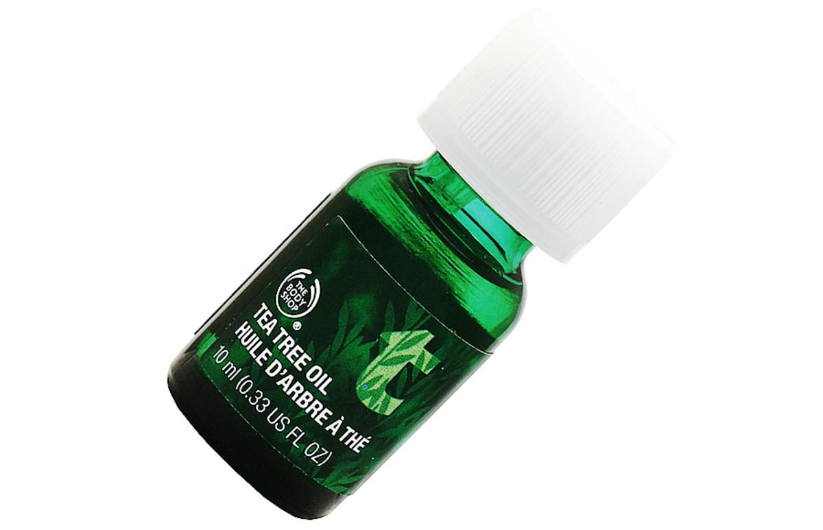 teen skin_the body shop tea tree oil