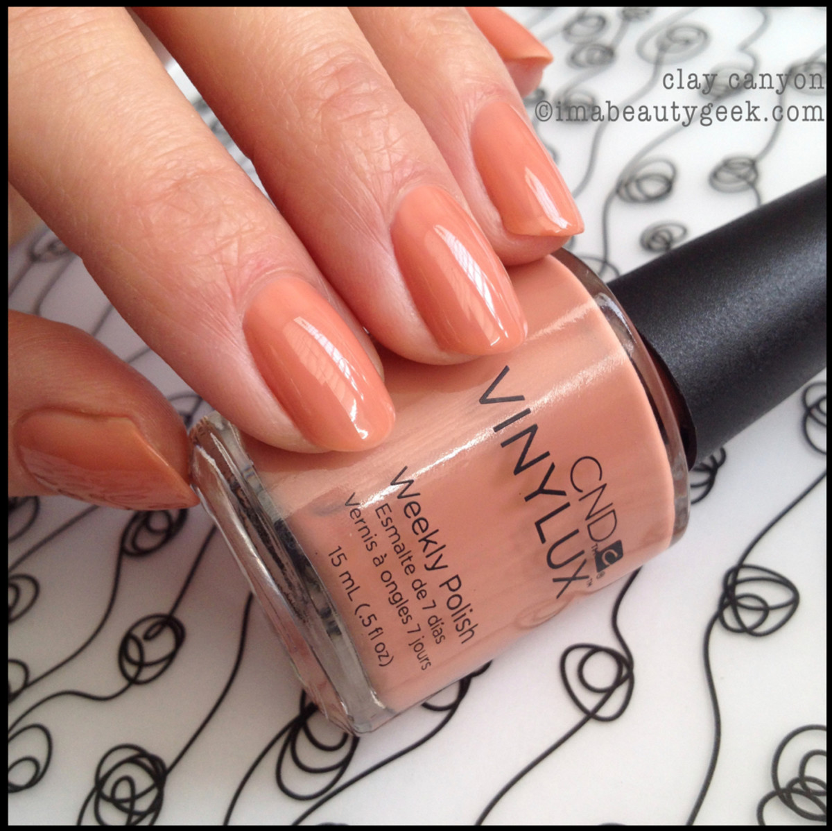 CND Vinylux Clay Canyon_CND Vinylux Spring 2014