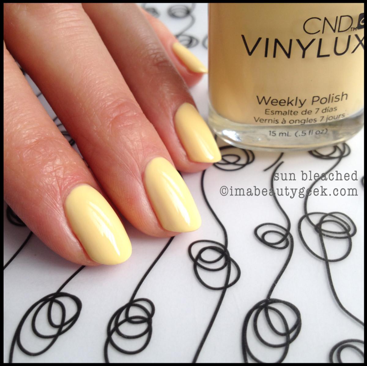 CND Vinylux Sun Bleached_CND Vinylux Spring 2014
