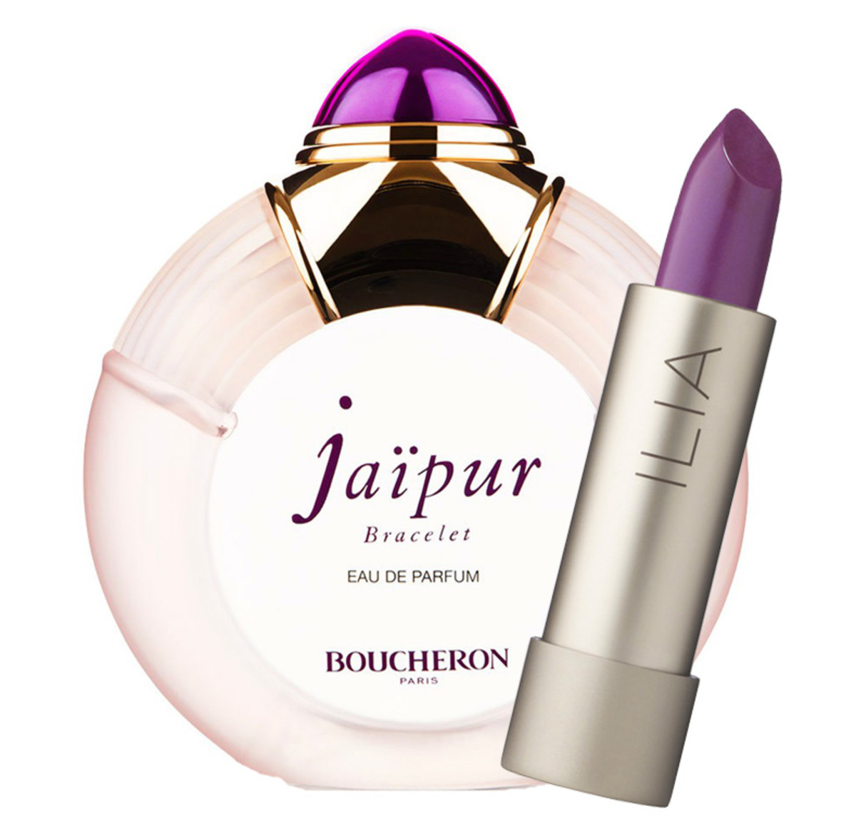 Boucheron Jaipur Bracelet + Ilia Lipstick in Ink Pot