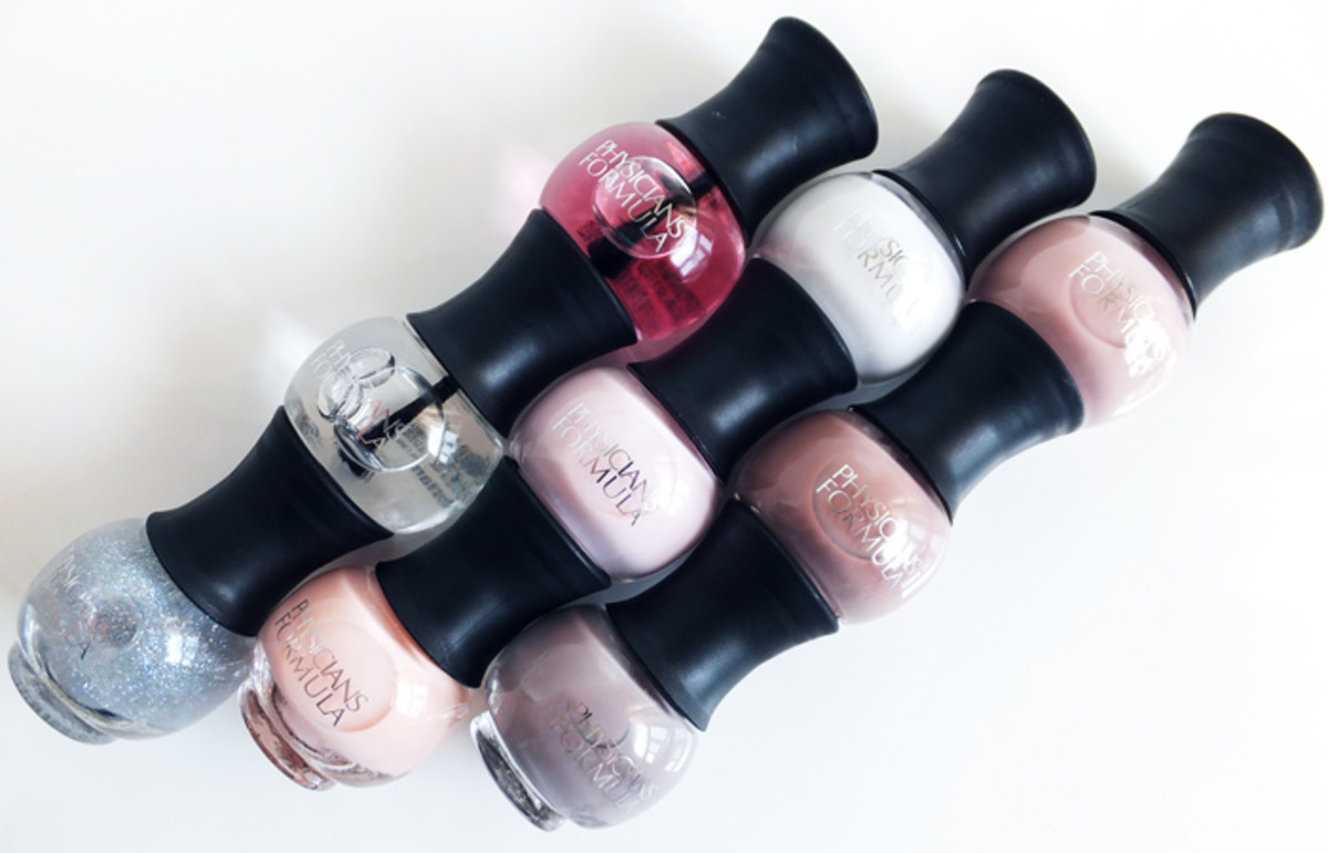 Physicians Formula Endless Color Custom Nail Trio nail polish in Treat Yourself_Bare it All_In the Nude