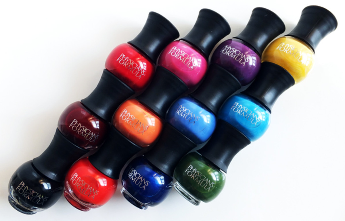 Physicians Formula Endless Color Custom Nail Trio polish_Smokin' Haute_California Goddess_Trendsetter Chic_Fashion Icon