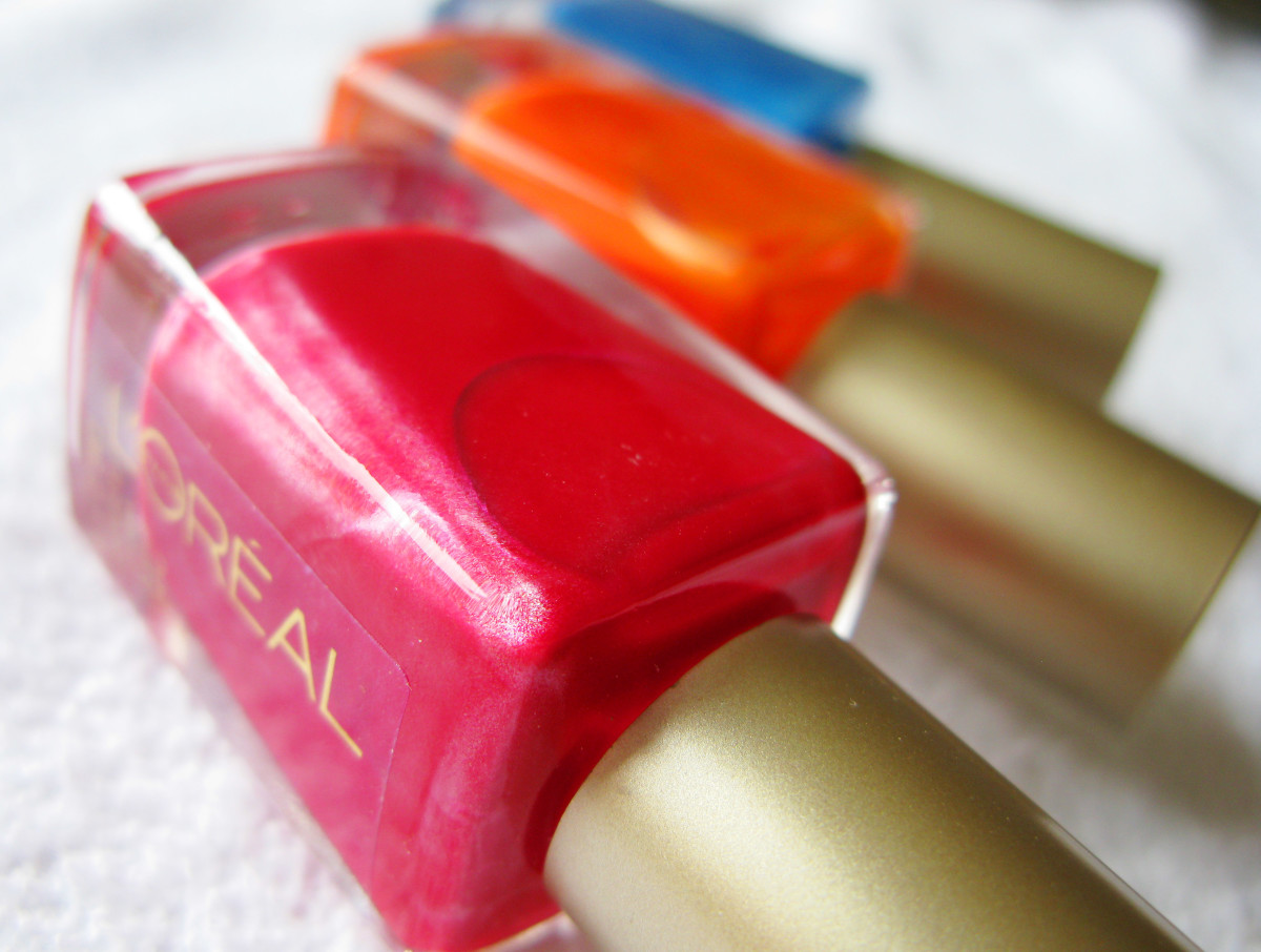 L'Oreal Paris Nail Color_Devil Wears Red_L'Orange_Jet Set to Paris