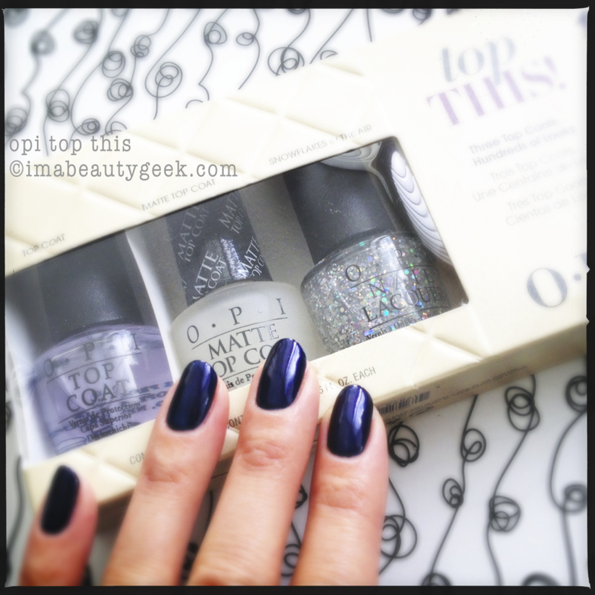 OPI Top This Gift Pack