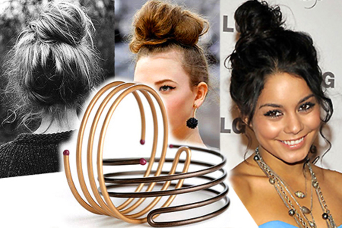 Video How To The Messy Topknot Beautygeeks