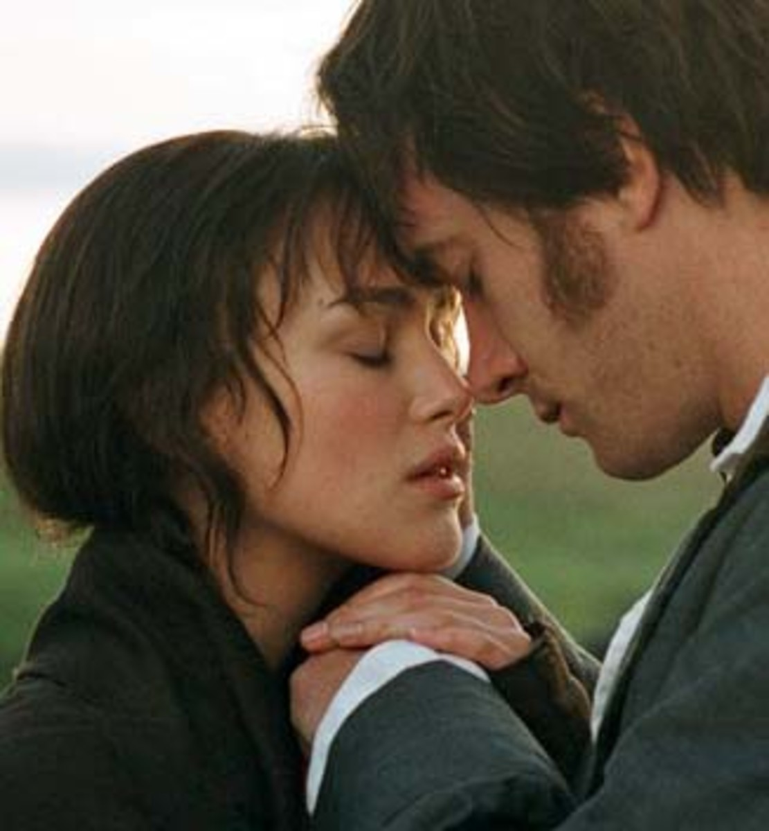 Keira Knightley and Matthew Macfadyen in Pride & Prejudice