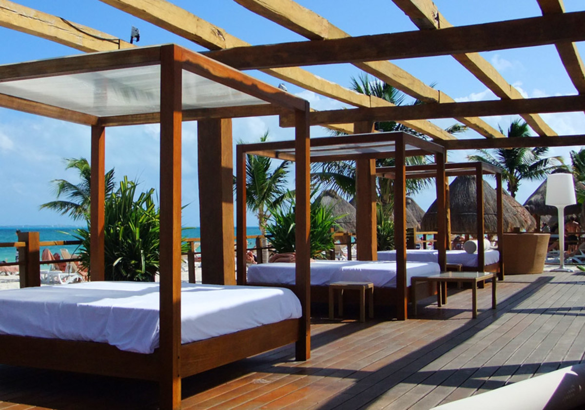 Excellence Playa Mujares_beachfront lounge deck