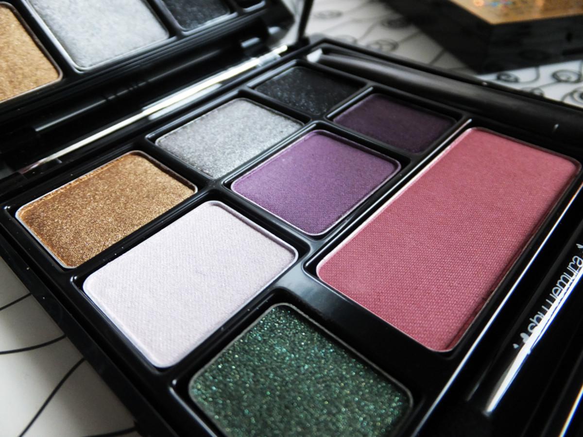 Shu Uemura eye & cheek palette 1