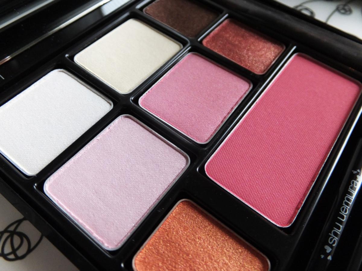 Shu Uemura eye & cheek palette 2