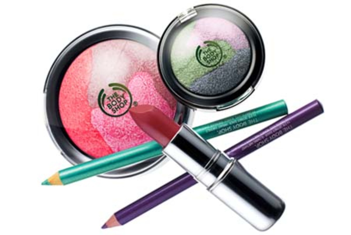 The Body Shop Fall 2009 makeup