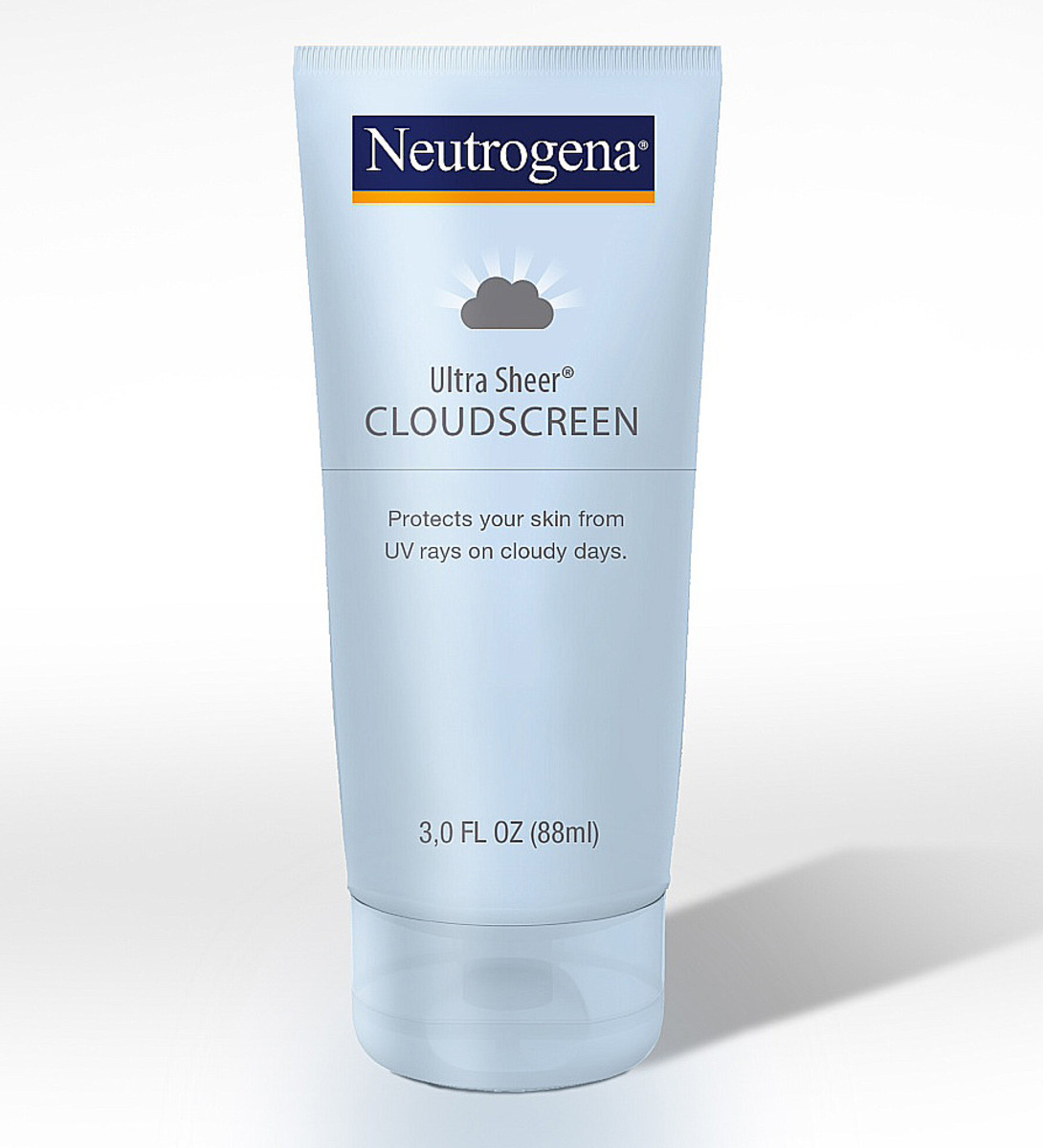 Neutrogena Ultra Sheer Cloudscreen sunscreen for cloudy days