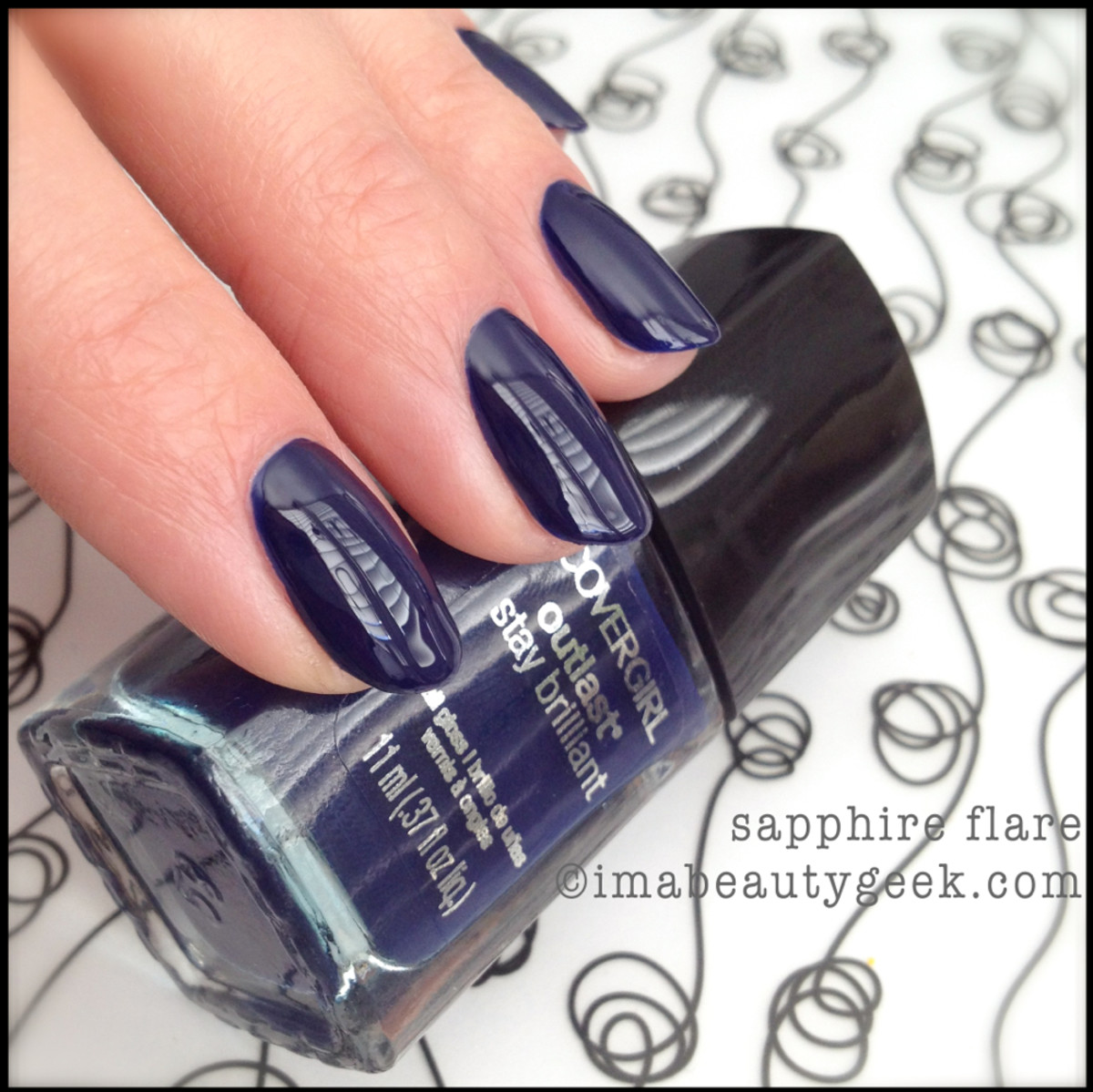 Covergirl Polish Sapphire Flare Spring 2014