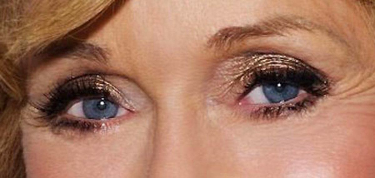 Jane Fonda_shimmer eye shadow_get the look_close-up eyes