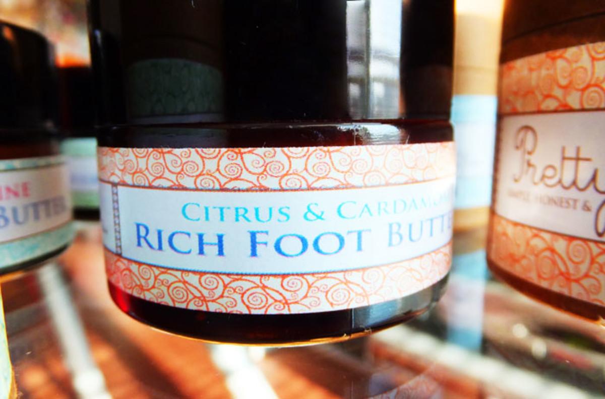 Pretty Organic Cosmetics_Rich Foot Butter