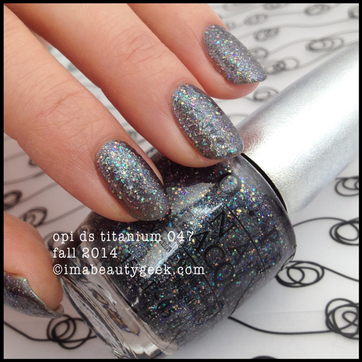 OPI DS Titanium 047 Fall 2014 Beautygeeks