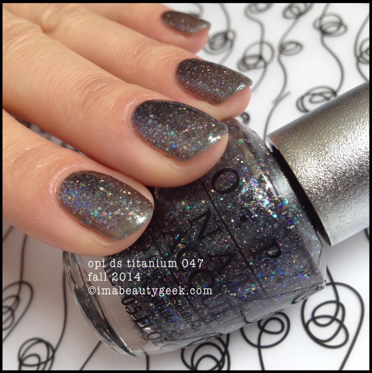 OPI DS Titanium 047 OPI Fall 2014 Beautygeeks