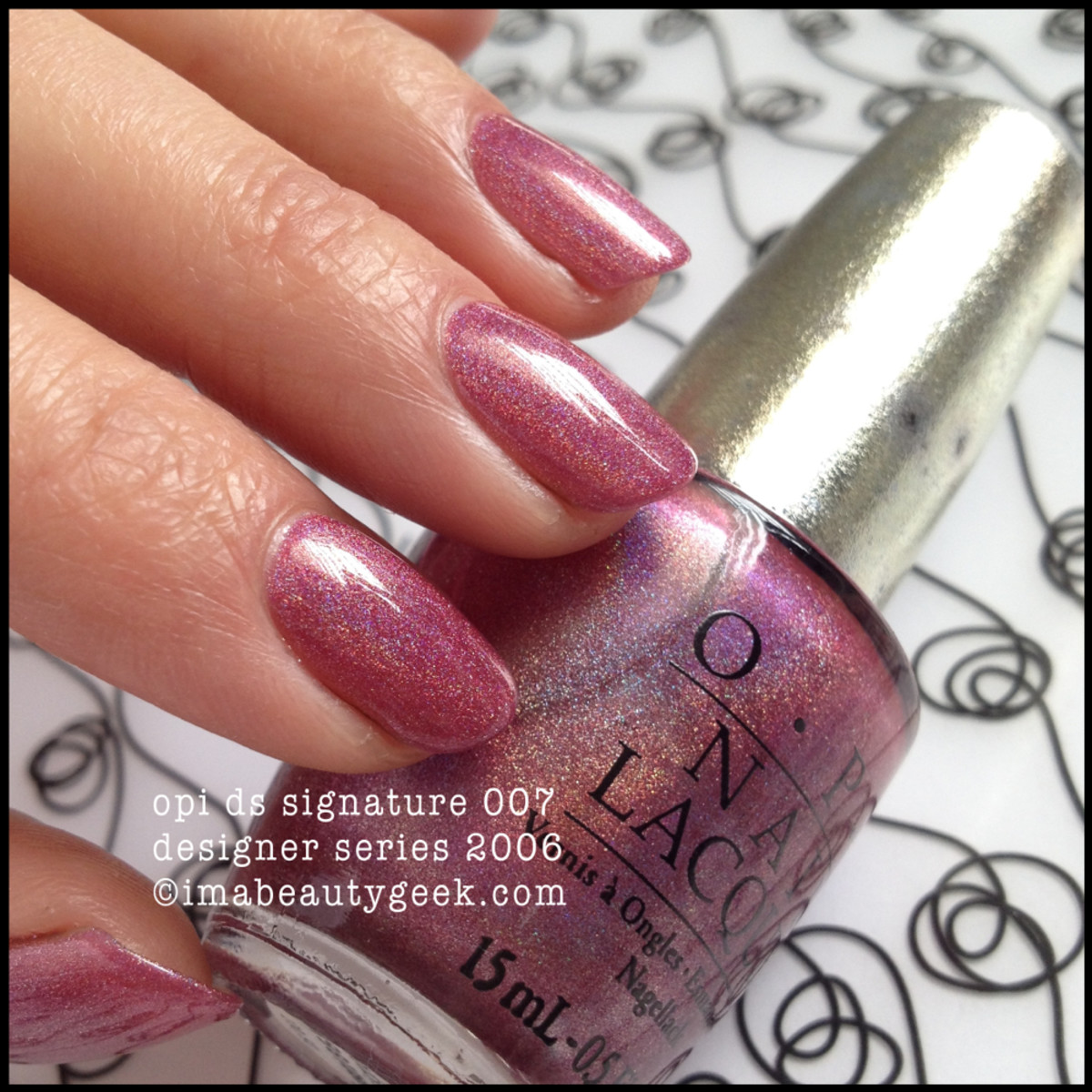 OPI DS Signature 007 Designer Series 2006
