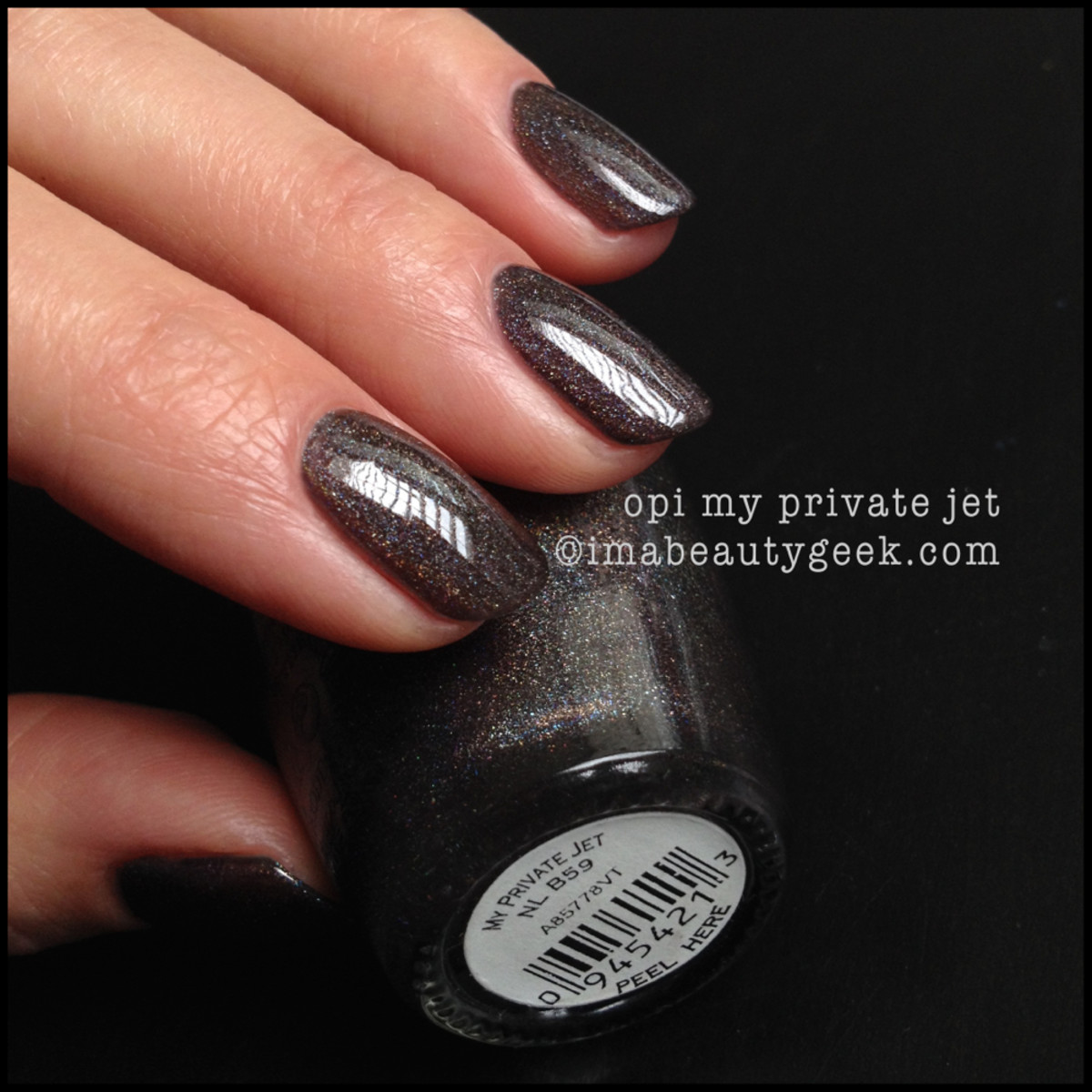 OPI My Private Jet Holo